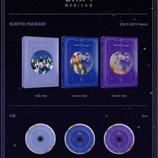 [LOOKING FOR / WTB] Readystock SEALED Gfriend Time For The Moon Night - Time / Night Version