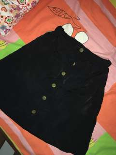 Black Buttom skirt