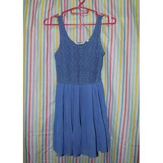 Generation Look Blue Laced dress