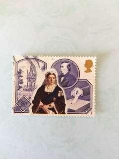 1987 Victoria 英國郵票一套四款