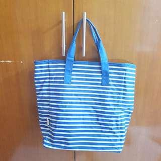 Tas biru blue bag