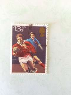 1980 sports 英國郵票一套四款