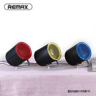 REMAX/睿量 F20潮牌炫酷工業風設計USB迷你風扇
