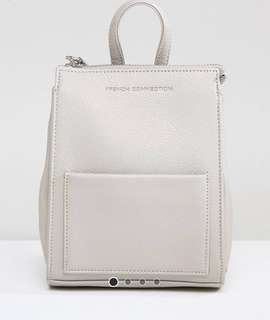 BN Authentic French Connection Grey Mini Bag Pack