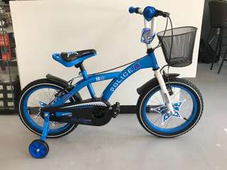 "Boy's Bicycle Blue -12"" to 16"""