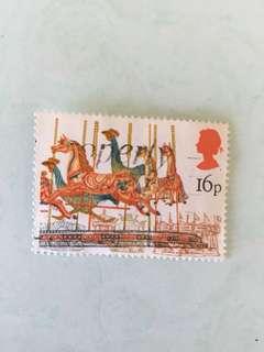 1983 British fairs 英國郵票一套四款