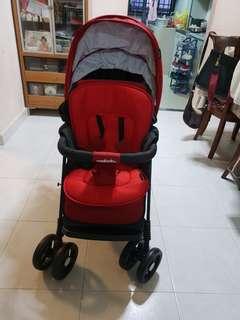 Multiple stroller