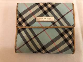 Burberry Blue Label Light Blue Wallet