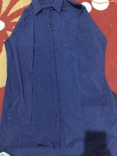 Baju biru dongker #AFBakrie