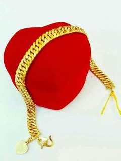 [INSTOCK] 916 Gold Bracelet.