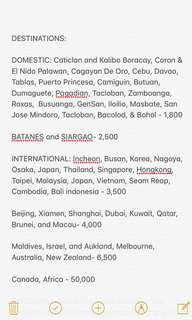 Seat Sale for Domestic and International Flights Roundtrip! ✈️