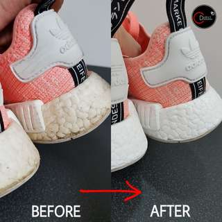Sneaker Midsole/Boost Restoration and Repaint Services (NMD)