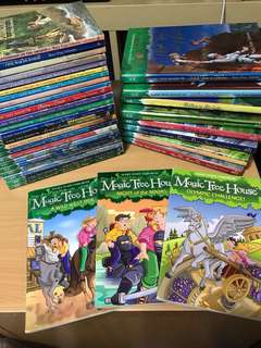 Mary pope Osborne : Magic tree house books (34)
