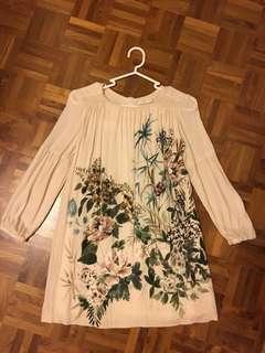 Zara Girls Floral Shift Dress