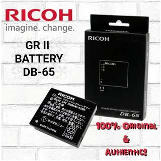 Ricoh GRII Battery (Ready Stock!)