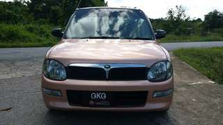Perdua kelisa 1000cc manual 2002yrs