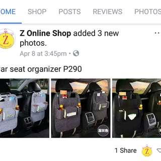 Organizer ( 2 for P500)