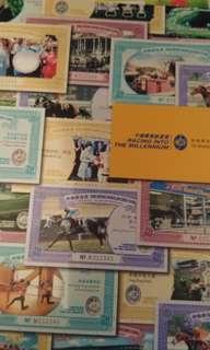 2000年賽馬會慈善馬票 共20張