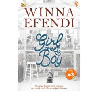 Ebook Girl meets Boy - Winna Efendi