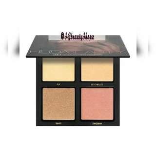💄💌📌FREE Normal Mail 💎Huda Beauty Golden Sand Edition 3D Highlighter Palette Set