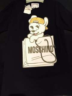 🆕👱‍♀️Authentic Ladies MOSCHINO BEAR Tee Dress,New Arrivals!!