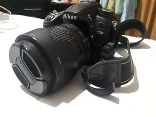 Nikon D7000 Scnd + Lens + LowerPro Bag + Mic CX1 Capdase + UltraSD 16Gb