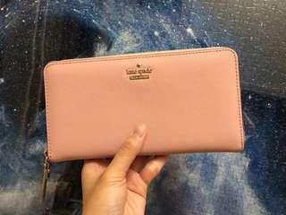 (4折!!!) Kate Spade Wallet pink 95% new