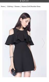 Fayth Arizona Cold Shoulder Dress
