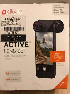 Olloclip Active lens set (Ultra-wide & Telephoto)
