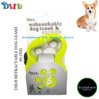 DIIL® Retractable Dog Leash (S) - 3m