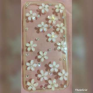 Iphone 6 Clear Case w/flowers