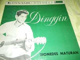 DIOMEDES MATURAN DINGGIN PHILIPPINES 60'S LP VILLAR