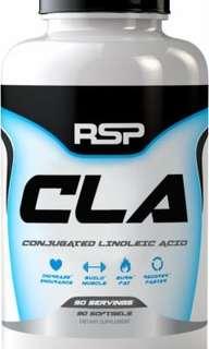 現貨◎ 美國代購 RSP Nutrition CLA 共軛亞麻油酸 紅花籽油 1000 mg 90粒