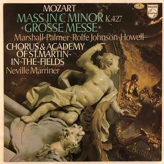Mozart Mass in C minor K427 Marriner PHILIPS 9500680