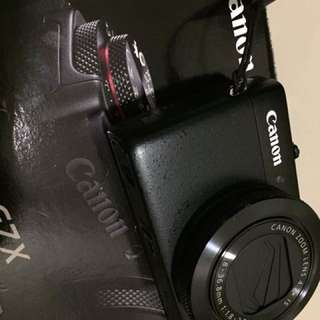 Canon G7X like new