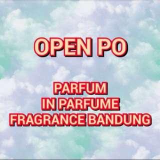 Open PO in parfume bandung