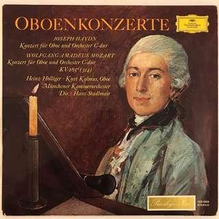 Haydn & Mozart Oboe Concertos Holliger Kalmus DG 135069