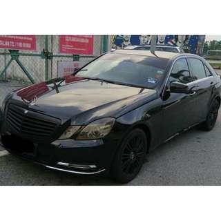 Mercedes-Benz E200 BlueEFFICIENCY -sambung bayar