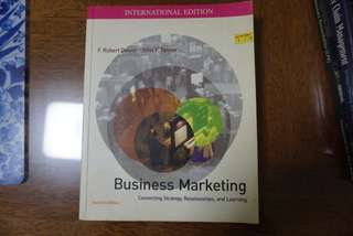 Business Marketing 2nd Edition