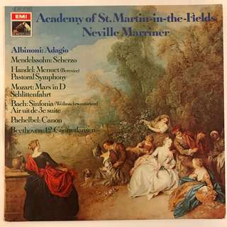 Academy of St. Martin-in-the-Fields directed by Neville Marriner EMI C063-02503