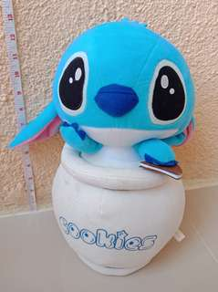 Stitch in Cookie Jar Stuff Toy