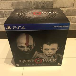 [BNIB] Limited Edition - God Of War 4 Collector's Edition (Steel Book)
