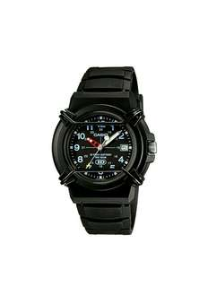 Original casio unisex resin strap analog watch   HDA-600B-1BVDF