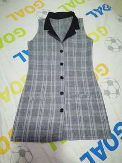 (BN) Checker long coat