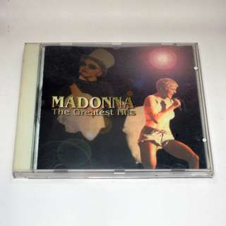 Madonna Greatest Hits album