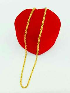 [INSTOCK] 916 Gold Necklace