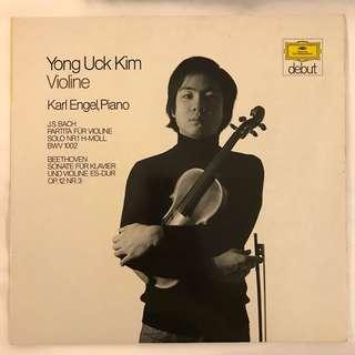 Yong Uck Kim plays Bach & Beethoven Violin works DG 2555002