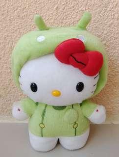 Hello Kitty Green Stuff Toy