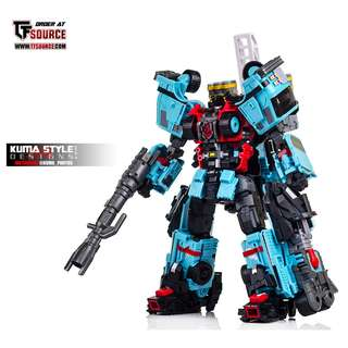 (Sale) MakeToys, Make Toys, MTCM-04C Vulcan (Hotspot) Protectobots, Defensor