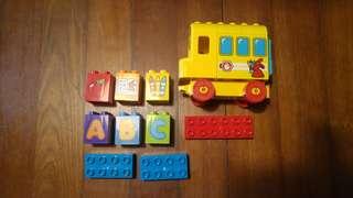 Lego Duplo Bus ABC